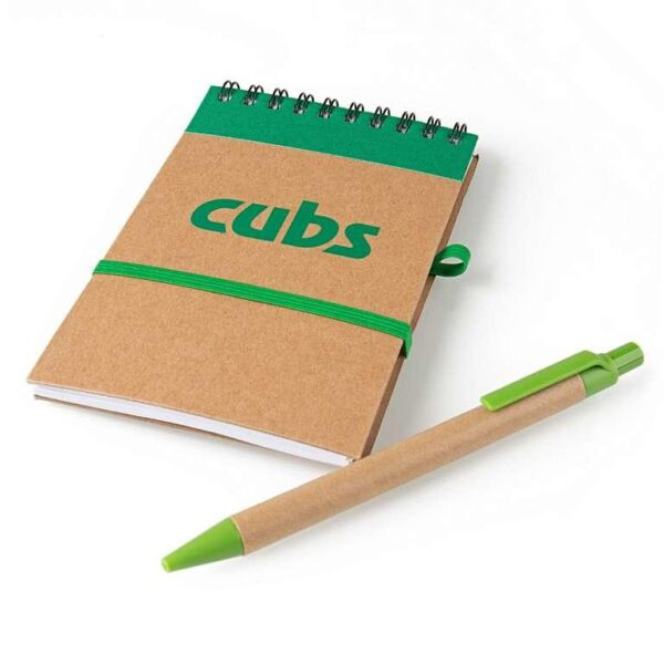 Cubs Eco Notebook and Pen